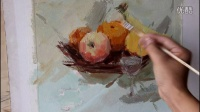 水粉静物 水粉画 水粉教学视频 水果水粉 石家庄画室 敬贤画室