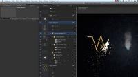 MOTION5 电焊机标题文字动画制作教程