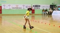 秦雨晴 2014 全国自由式轮滑锦标赛 少女花桩 5th