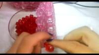 手工串珠婚礼熊底座视频教程 一帘幽梦串珠世界