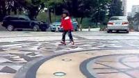 廖堉铃滑冰游玩1