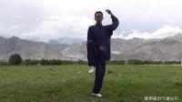 杨大卫讲解传统杨式太极拳85式--第22课左右分脚