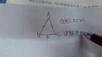 初二数学上册 八年级数学上册 与三角形有关的线段3