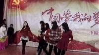 迎2014年元旦文艺演出初三师生舞蹈