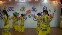 迎2013年元旦文艺演出初二年级学生舞