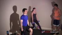 家庭健身塑型循环训练-腿部