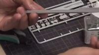 1-700凌波号模型制作(船体制作篇3-15)零件的整形和粘接