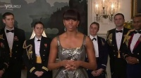 Oscars 2013- 美国第一夫人 Michelle Obama 演讲
