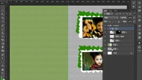 图像photoshop视频教程框架式 ps实例构图创意