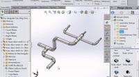 【SolidWorks 2015新增功能】13_Routing管路管道增强功能_实威国际SWTC.COM