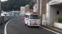 日本兵库县姬路市 轻型救护车出警