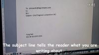 "英语视频教学-【跟Jim学英语】学英语视频""writing formal email"""