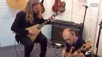 上海乐器展2014  GuyLee与ESP松本老师的合奏