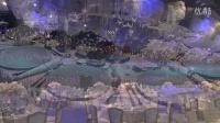 迪拜土豪婚礼,用6.5万颗水晶打造的奢华婚礼