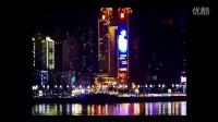 王俊凯15岁生日应援 喜来登巨屏LED广告——来自对岸
