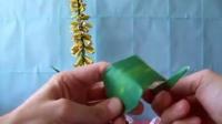 最新DIY折纸教程-芦荟花折法 折纸视频大全.flv