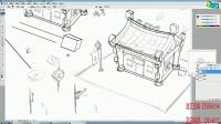 名动漫原画插画免费课程第一弹:Q版场景设计---设计的思路
