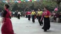 00096 14年中海国际西南民大成都锅庄交流会 藏族锅庄舞