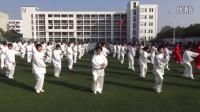 """芜湖市无为县第二届""""精诚电器杯""""二十四式简化太极拳表演"""