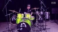 鼓手王珂即兴演示西班牙狂欢节炫舞系列架子鼓--小苹果