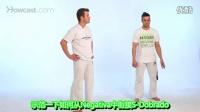 Capoeira卡波拉教学视频第17集:卡波拉高级动作 - S-Dobrado(特技动作)