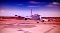 国航767-300ER降落巴黎戴高乐机场