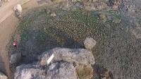 DJI 精灵2v+航拍黑石礁滨海地质公园