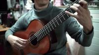 3分钟古典吉他高级技巧--快速半音阶实用解析 张季深圳古典吉他音乐教室