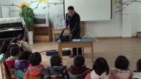 管子先生给儿子学校的助学活动