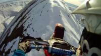 GoPro: 穿越雪山山脊线