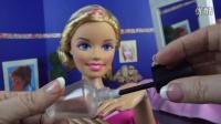 Barbie Makeup 芭比娃娃 化妆教程 技巧 彩妆 化妆视频 简易 英语