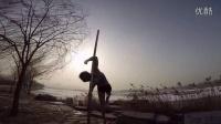 钢管舞国家队和钢管舞训练中心学员——挑战冰雪