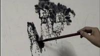 山水画基础教程视频-王中年山水画教程-小写意画法_王中年山水画技法3