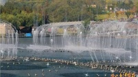 2014青岛世园会音乐喷泉好壮观