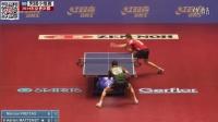 2014东京世乒赛男团小组赛_弗雷塔斯VS马特内特_乒乓球比赛视频剪辑_左手右手横拍