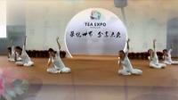 深圳茶博会集体舞韵瑜伽表演《莲花》