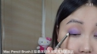 圣诞模式紫色眼妆【MsOrange】