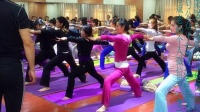 陕西第28次瑜伽公益免费晨练
