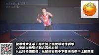 《国家队教学》第2集:松平健太正反手下蹲式发球技术_乒乓球教学视频教程