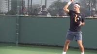 【普乐网球】费德勒慢动作全 近景远景 高清