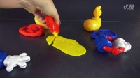 #016 培乐多米奇妙妙屋迪斯尼  彩泥套装 Play-Doh Mickey Mouse  Learn English