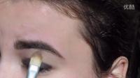 眼部 化妆技巧 英语视频 彩妆教程 化妆视频 简易 步骤 图片 美宝莲