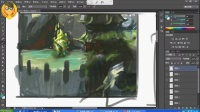 CG场景绘画技法04《场景的质感表现》PS教程CG绘画教程