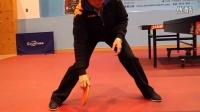 《好动学院》打乒乓球时的基本准备姿势_乒乓球教学视频教程