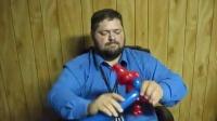 A436 蜘蛛侠 魔术气球教程 魔法长条气球制作教学