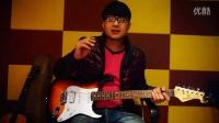 泡泡电吉他初学入门  第一课 右手拨弦练习