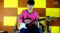 泡泡吉他 电吉他初级教程 第二课 半音阶练习
