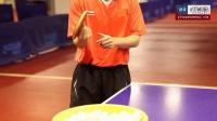 乒乓网视频组教你学转不转发球