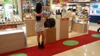 【性感美女】商场激情演奏小提琴-宅男的福利来咯!