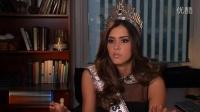 第63届环球小姐Paulina Vega接受access hollywoo访问 1